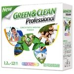Green Wedge Professional Color Automat Phosphate-Free Washing Powder for Colored Fabrics for All Washing Types 1,2kg