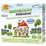 Стиральный порошок Green&Clean Professional для детской одежды 1,2кг