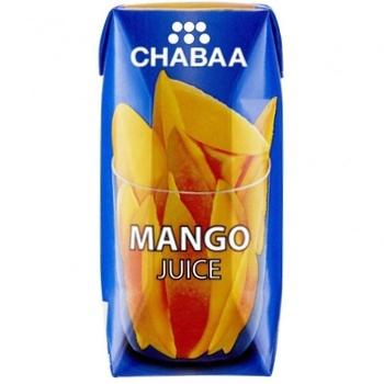Сік Chabaa манго 180мл