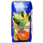 Сік Chabaa Red & White фруктовий мікс 180мл