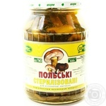 Mushrooms Charme pickled 920g glass jar Ukraine