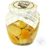 Mushrooms penny bun Charme white canned 720g glass jar Ukraine
