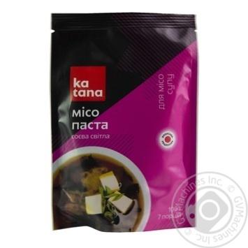 Місо соєва паста світла Katana 100г - купити, ціни на Ашан - фото 1
