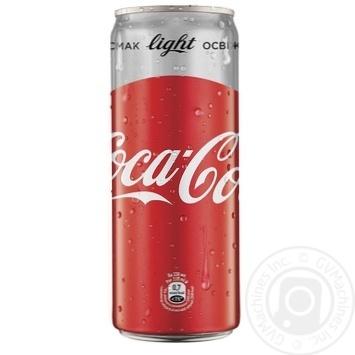 Напиток Coca-Cola Light сильногазтрованный 0,33л - купить, цены на МегаМаркет - фото 1