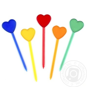 Linpac Disposable Skewer Heart 40pcs./pack - buy, prices for Auchan - image 2