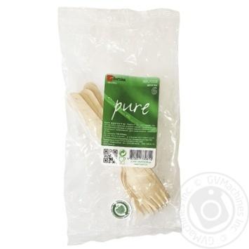 Wooden Fork 6pcs. - buy, prices for Furshet - image 4