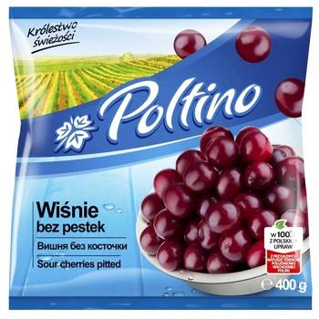 Вишня Poltino без кісточки швидкозаморожена 400г - купити, ціни на МегаМаркет - фото 1