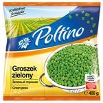 Горошок зелений Poltino швидкозаморожений 400г