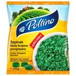 Шпинат Poltino листовой резаный порционный быстрозамороженный 450г
