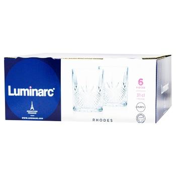 Luminarc Rhodes Set of Low Glasses 310ml 6pcs