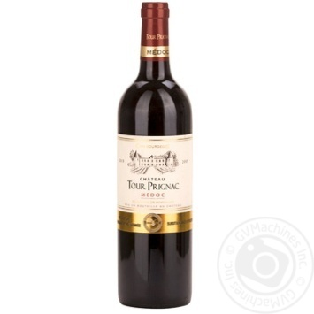 Chateau Tour Prignac Red Dry Wine 13.5% 0.75l - buy, prices for CityMarket - photo 1