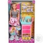 Simba Steffi Love Cute Pet Salon Doll Set