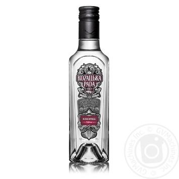 Kozaцьka Rada Classic Vodka 40% 0,25l - buy, prices for Novus - image 1