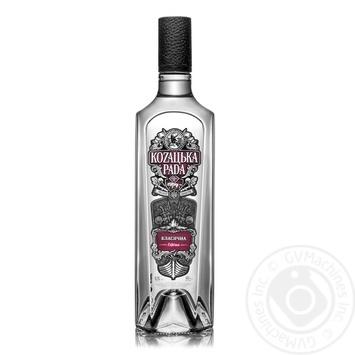 Kozaцьka Rada Classic Vodka 40% 0,7l - buy, prices for Furshet - image 1