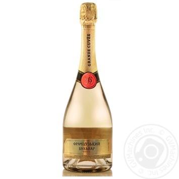 Вино игристое Французский бульвар Gold белое сладкое 750мл - купить, цены на Таврия В - фото 1