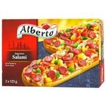Багеты Alberto Салями 2шт 250г