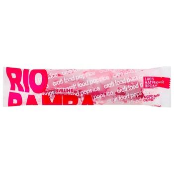 Мороженое Rio Bamba Сорбет Вишня 110г
