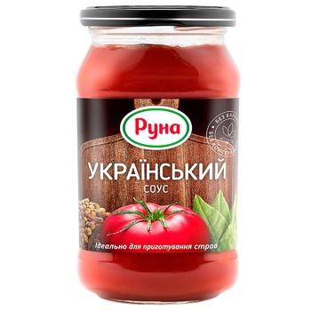 Соус Руна Український 485г - купити, ціни на Novus - фото 1