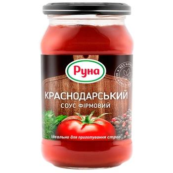 Runa Krasnodarskiy Brand Tomato Sauce 485g - buy, prices for Auchan - photo 1