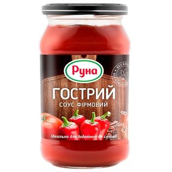 Runa Piquant Tomato Sauce 485g - buy, prices for CityMarket - photo 1