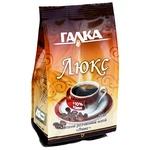 Напиток кофейный Галка Люкс с экстрактом из корня цикория растворимый 100г
