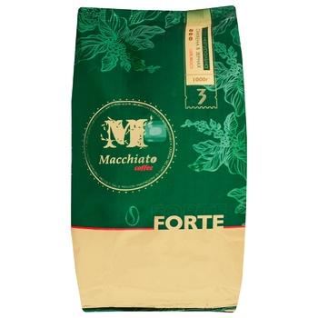 Кофе Macchiato Forte натуральный жареный в зернах 1кг