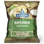 Вареники Хладик С картофелем замороженные 600г - купить, цены на Таврия В - фото 1