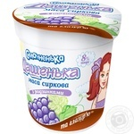 Smachnenka Dashenka Cottage Cheese with Raisins and Glaze 8% 180g - buy, prices for MegaMarket - image 1