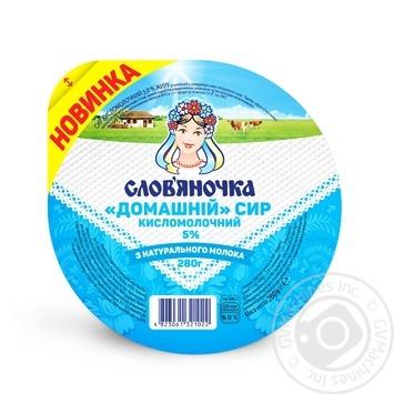 Творог Слов'яночка Домашний 5% 280г - купить, цены на Novus - фото 2