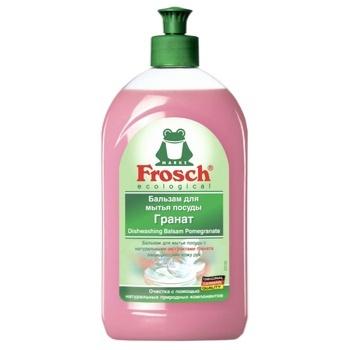 Бальзам для посуду Frosch Гранат концентрат 500мл