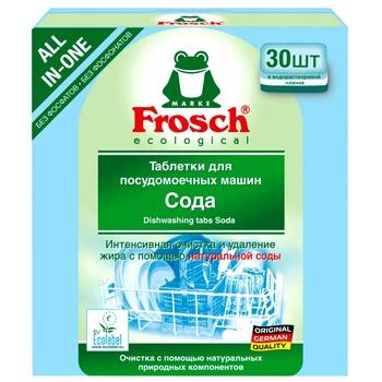 Таблетки для посудомоечной машины Marke Frosch 30шт - купить, цены на МегаМаркет - фото 1