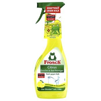 Очиститель Frosch Лимон для ванны и душа  500мл