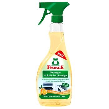 Засіб Frosch для гладких поверхонь апельсин 500мл - купити, ціни на Novus - фото 1