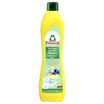 Frosch Lemon Universal Cleansing Milk 0,5l - buy, prices for CityMarket - photo 1