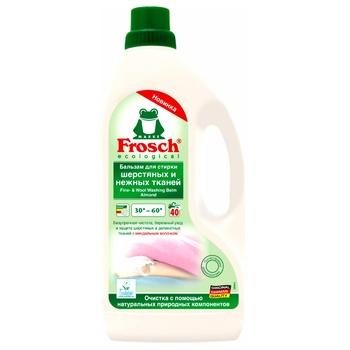 Средство для стирки Frosch Миндальное молочко 1,5л - купить, цены на Novus - фото 1