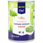 Metro chef canned pea 425ml