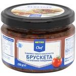 Брускета Metro Chef з в'яленими помідорами 230г