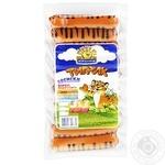 Сосиски Ятранчик Тигрик варені 385г - купити, ціни на МегаМаркет - фото 1