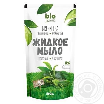 Мыло жидкое Bio Naturell Зеленый чай 500мл