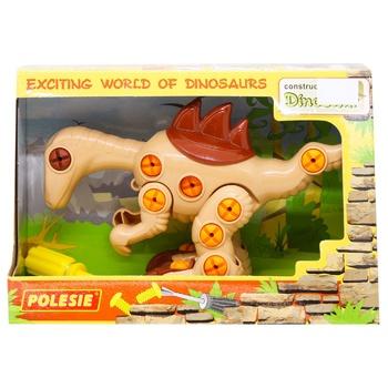 Polesie Velociraptor Dinosaur Constructor 36 Elements - buy, prices for Tavria V - image 1