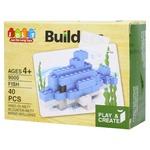 Jun Da Long Toys Fish Construction Set 40elements