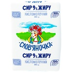Slovianochka Cottage Cheese 9% 202g