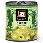 Оливки Эллада без косточки 850мл