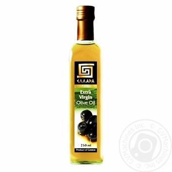 Oil Ellada olive unrefined 250ml glass bottle - buy, prices for Novus - image 1