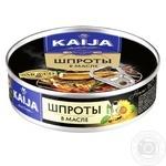 Шпроти Kaija в олії 160г - купити, ціни на Novus - фото 1