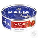 Сардина Kaija в томатном соусе 240г - купить, цены на Novus - фото 1