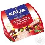 Лосось Kaija с овощами в томатном соусе 220г - купить, цены на Novus - фото 1