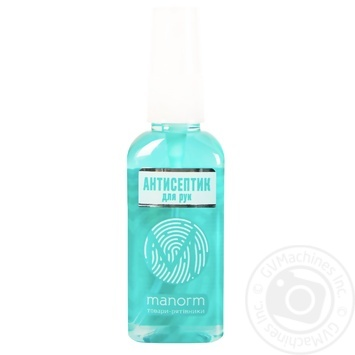 Manorm Malachite Disinfectant Antiseptic for Hands 50ml - buy, prices for Novus - image 1