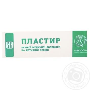Пластир медичний Manorm на нетканій основі 1,9х7,2см 10шт - купити, ціни на Ашан - фото 2
