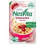 Каша вівсяна Nesvita солодка з молоком і шматочками вишні 45г